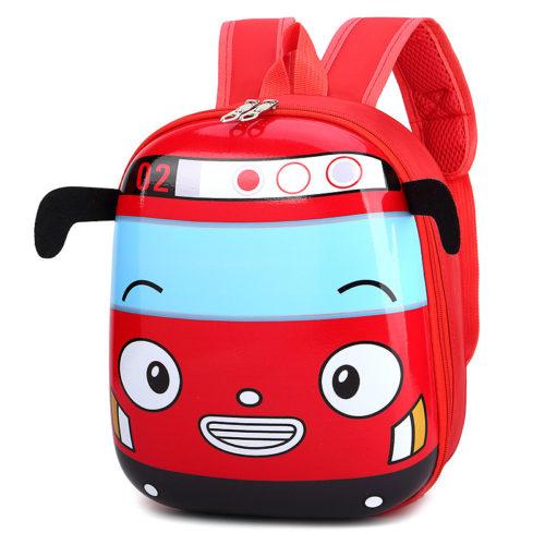 Яркий детский водонепроницаемый рюкзак в виде автобуса (высота 30 см)