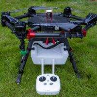 6-осевой сельскохозяйственный дрон