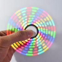 DIY набор Светодиодный светящийся спиннер