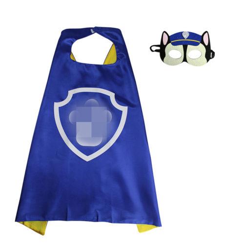 Детский косплей костюм Щенячий патруль (маска и накидка)