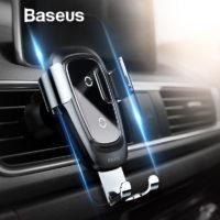 Подборка держателей для телефона с беспроводной зарядкой в автомобиль на Алиэкспресс - место 3 - фото 1
