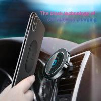 Подборка держателей для телефона с беспроводной зарядкой в автомобиль на Алиэкспресс - место 5 - фото 6