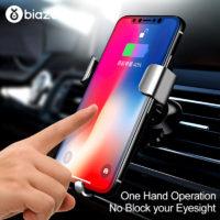 Подборка держателей для телефона с беспроводной зарядкой в автомобиль на Алиэкспресс - место 1 - фото 4
