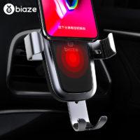 Подборка держателей для телефона с беспроводной зарядкой в автомобиль на Алиэкспресс - место 1 - фото 5