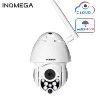 INQMEGA Беспроводная водонепроницаемая PTZ камера наружного наблюдения 1080 P