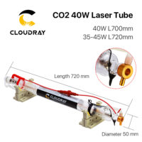 Лазерная трубка Cloudray LT-40W/CR-35W для CO2 лазера
