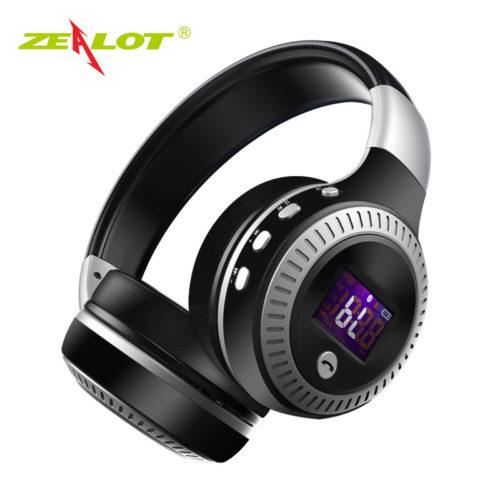 Беспроводные наушники с микрофоном Zealot B19