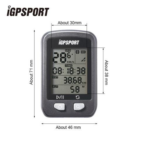 IGPSPORT водонепроницаемый беспроводной цифровой велокомпьютер спидометр с GPS