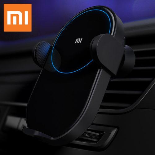 Xiaomi Wireless Car Charger WCJ02ZM Автомобильный держатель для телефона в воздуховод с беспроводной зарядкой 20 Вт