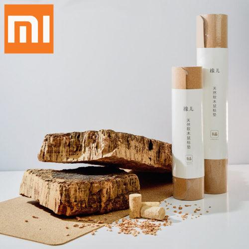 Xiaomi youpin Натуральный деревянный коврик для мыши из пробки
