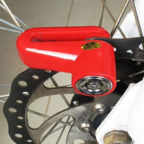 Противоугонный замок на дисковый тормоз велосипеда