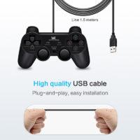 DATA FROG проводной USB геймпад джойстик для ПК