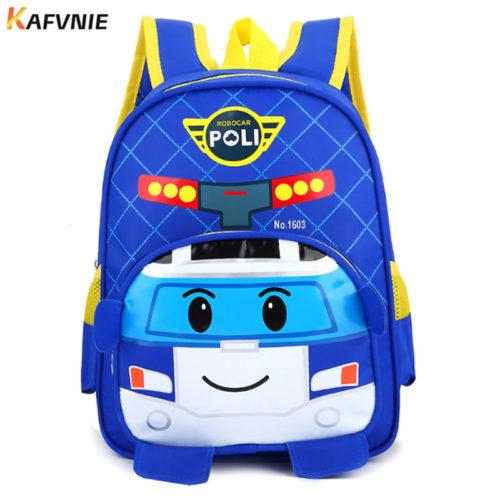 Яркий детский школьный рюкзак в виде самолета (высота 30 см) для мальчиков
