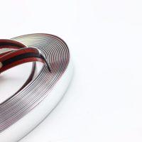 Декоративная хромированная лента (длина 5 м, ширина 6-30 мм)