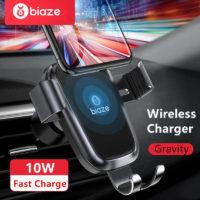 Подборка держателей для телефона с беспроводной зарядкой в автомобиль на Алиэкспресс - место 1 - фото 1