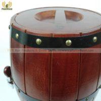 Дубовая деревянная пивная бочка на 3 литра