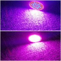 Светодиодная фитолампа 60 светодиодов, цоколь Е27