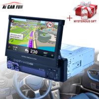 Ai CAR FUN RK-7158G Магнитола с выдвижным экраном