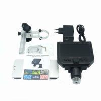 Электронный цифровой микроскоп 600X с металлической подставкой