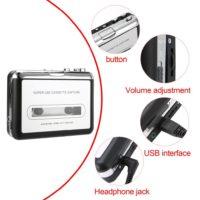 Кассетный MP3 USB плеер