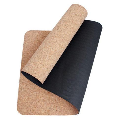 Коврик для йоги из пробки 4/5/6 мм