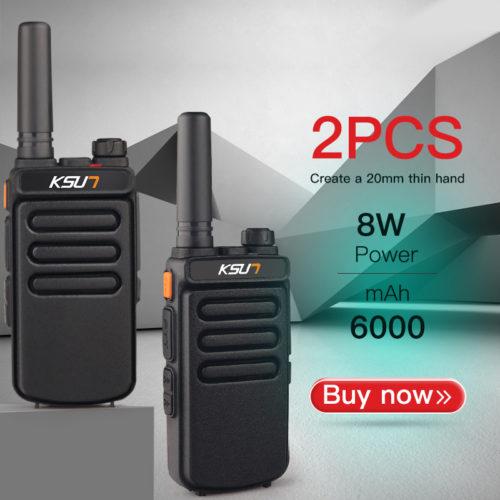 Ksun X-30 портативная мощная рация 2 шт.