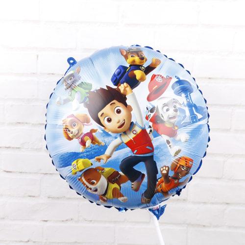 Фольгированные детские воздушные шары Щенячий патруль 18 дюймов 6 шт.