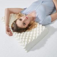 GIANTEX ортопедическая подушка для сна из натурального латекса