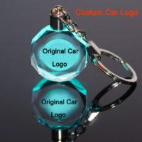 Светящиеся брелоки с логотипами разных авто