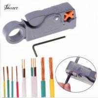 Стриппер для коаксиального и круглого кабелей