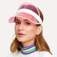 Женская солнцезащитная кепка прозрачный козырек (разные цвета)