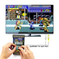 DATA FROG Маленький аркадный автомат игровая консоль (156 игр)