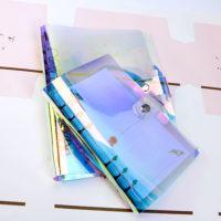 Голографическая обложка чехол для блокнота A5/A6/A7