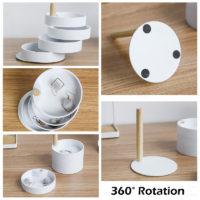 Оорганайзер для украшений 360 градусов 4 выдвижных слоя