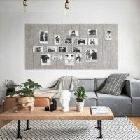 Войлочная доска для заметок на стену (1 шт. 30х30 см)