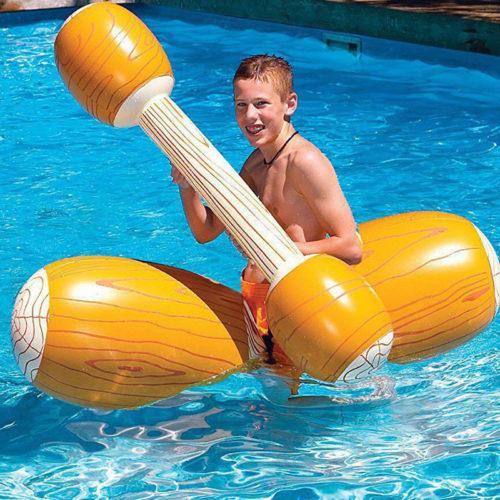 Надувные игрушки для битвы в бассейне