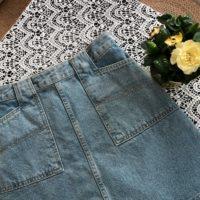 Популярные джинсовые юбки с Алиэкспресс - место 2 - фото 2