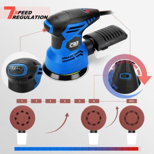 Prostormer 300W полировальная шлифовальная машинка 13000 об/мин