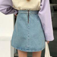 Популярные джинсовые юбки с Алиэкспресс - место 2 - фото 5