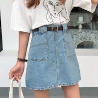 Популярные джинсовые юбки с Алиэкспресс - место 2 - фото 4