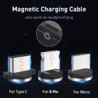 Магнитные кабели для зарядки смартфонов с Алиэкспресс - место 4 - фото 3