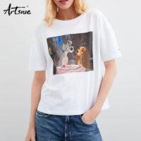 Женские футболки Disney с Алиэкспресс - место 5 - фото 1