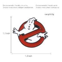 Значок брошь Ghostbusters (Охотники за привидениями)