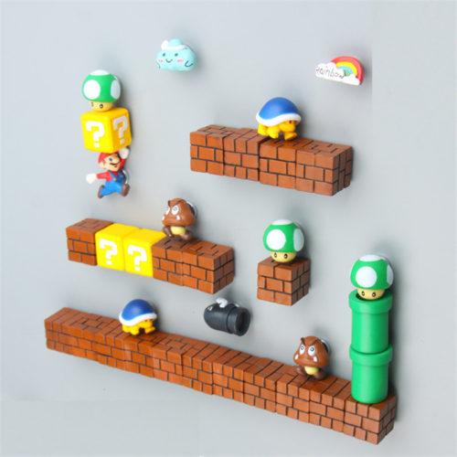 Прикольные магниты для холодильника Марио (продаются поштучно)