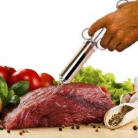 Шприц кулинарный для маринада мяса