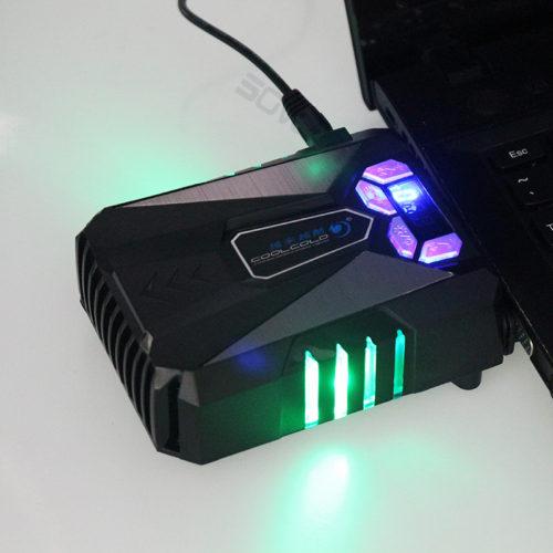 COOLCOLD универсальный USB вентилятор кулер для охлаждения ноутбука
