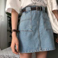 Популярные джинсовые юбки с Алиэкспресс - место 2 - фото 1