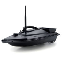 Flytec 2011-5 прикормочный кораблик рыболовная лодка с двумя эхолотами и дистанционным радиоуправлением
