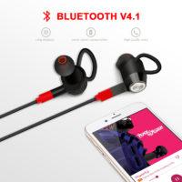 Mixcder Flyto V4.1 беспроводные шейные Bluetooth наушники