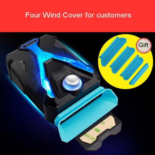 ICE COOREL Вакуумный портативный USB вентилятор кулер для охлаждения ноутбука
